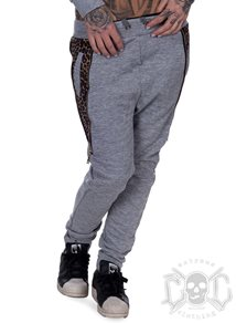 eXc Leopard SweatPants, Grey